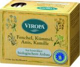 VIROPA Fenchel, Kümmel, Anis, Kamille - Tee  BIO