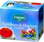 VIROPA Heidelbeere & Hagebutte - Früchtetee