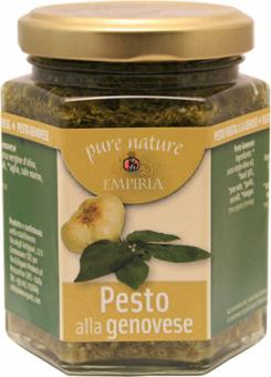 Pesto all Genovese (Basilikum) BIO