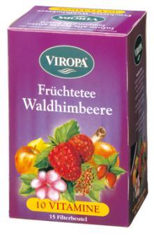 VIROPA Waldhimbeere - Vitamin Früchtetee