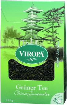 VIROPA Grüner Tee - China Gunpowder in Apotheker-Qualität