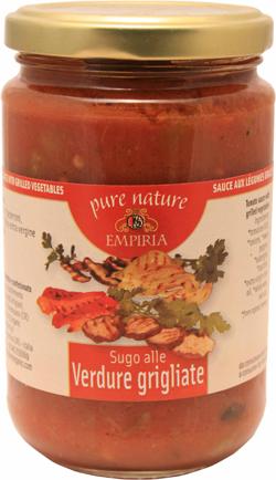 Sugo alle Verdune Grigliate (gegrilltes Gemüse)  BIO
