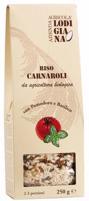 La Lodigiana Risotto mit Tomaten und Basilikum - Bio