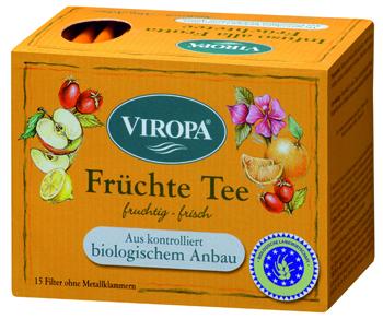 VIROPA Früchte Tee - BIO