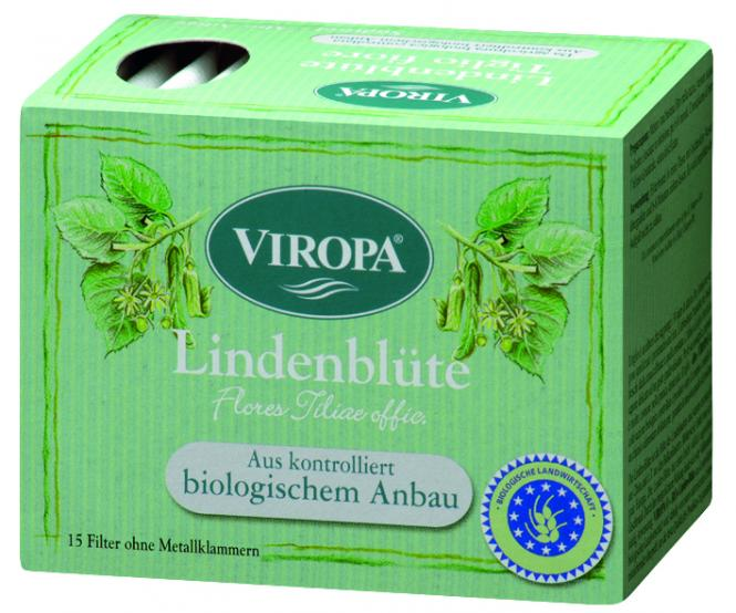 VIROPA Lindenblüten Tee - BIO