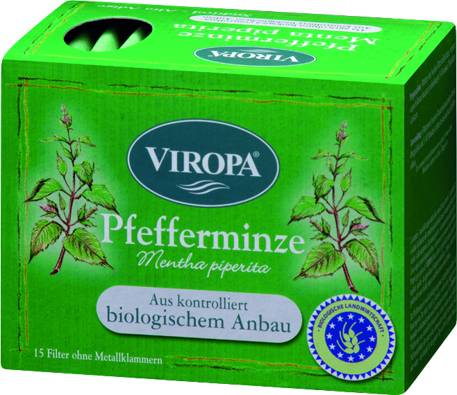 VIROPA Pfefferminz Tee - BIO