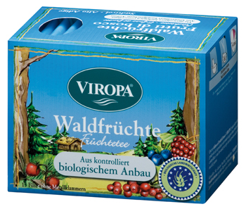VIROPA Waldfrucht Tee - BIO