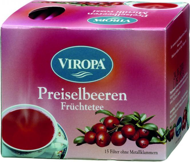 VIROPA Preiselbeeren - Früchtetee