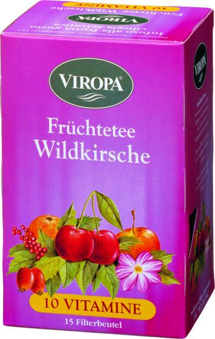 VIROPA Wildkirsche - Vitamin Früchtetee
