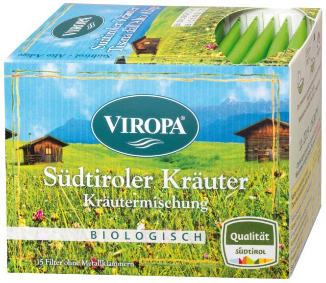 Südtiroler Kräuter Kräutermischung BIO